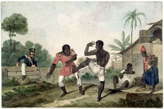 Early capoeira.