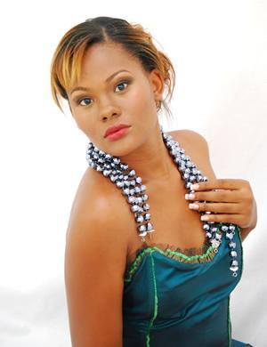 Miss Guyana Universe Jenel Cox.